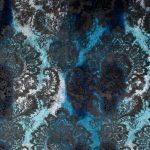 Barok Medallion farve 406 Blu